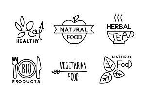 Healty, natural, vegetaran food