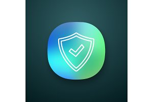Security approved app icon