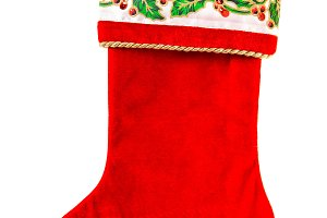Christmas stocking Red sock gifts