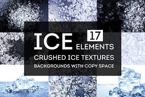 Ice backgrounds collection