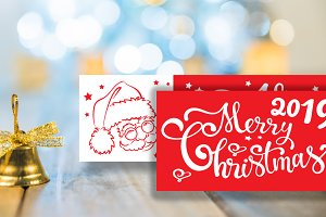 Christmas cards - banners