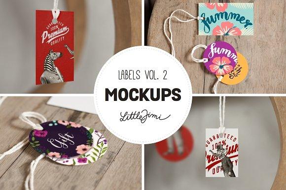 Label Mockups Vol. 2
