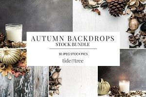 Autumn Backdrops Set