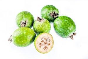 Raw organic feijoa
