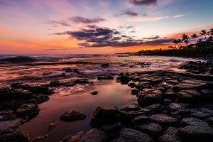 Kauai Ocean Sunset