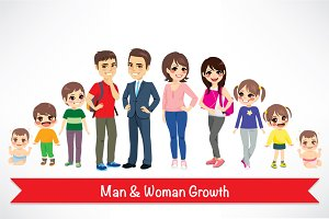 Man & Woman Growth