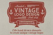 Vintage Logo Design Tool Kit