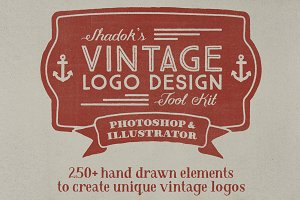Vintage Logo Design Tool Kit