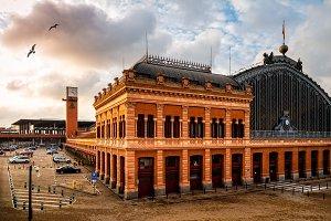 Atocha Railway Station of Madrid at