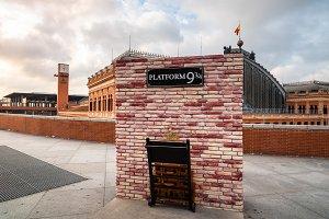 Platform nine and three quarters of