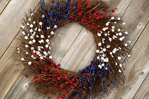 Independence Wreath for America
