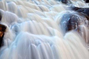 Chutes du Diable Waterfall