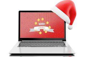 3d Shopping online for christmas