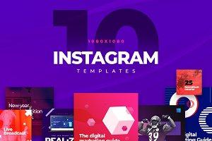 10 Instagram Templates