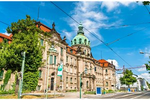 The City Hall of Potsdam in