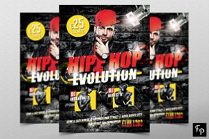Hip Hop Flyer v3