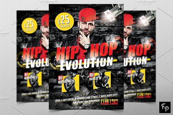 Hip Hop Flyer V3