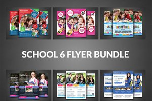 School Admission Flyer Bundle Print