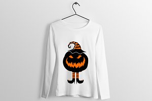 Halloween T Shirt Design Art