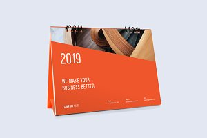 Desk Calendar for 2019
