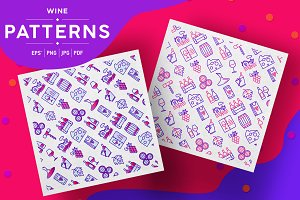 Wine Patterns Collection