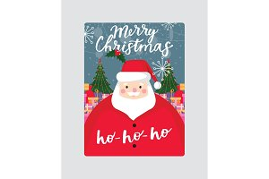 Christmas vector Merry Xmas greeting