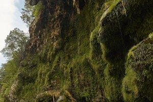 Natural dripstone in Central Sardini