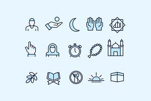 15 Ramadan Icons