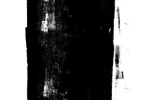 Black rolled ink texture