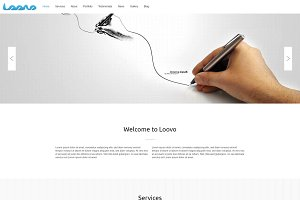 Loovo - One Page WordPress Theme