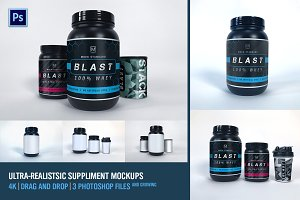 Supplement Mockups