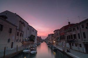 Rio Di San Girolamo at sunset