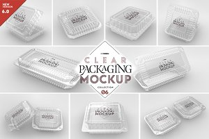 06 Clear Container Packaging Mockups
