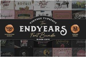 Endyears Font Bundle