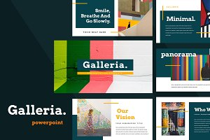 Galleria Colorful Powerpoint