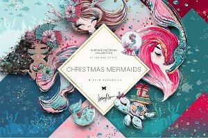 Christmas Mermaids Basic Patterns