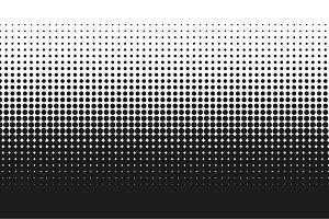 Dot Fade Half Tone Gradient Pattern