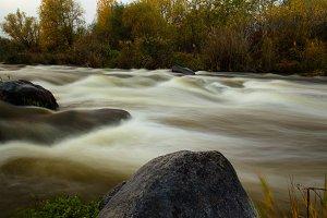 mountain river Southern Bug Ukraine