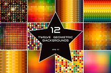 12 Abstract Geometric backgrounds