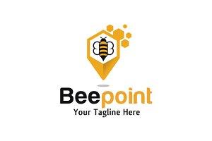 Bee Point Logo Design