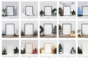 Frame Mockups Christmas - 80 images