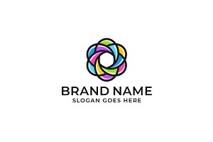 Bright Abstract Logo Design