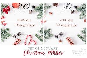 Christmas Insta Cards
