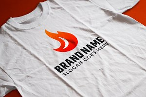 Fire Logo Template