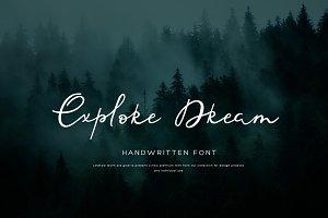 Sofity script font