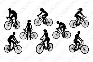 Bicycle Riding Bike Cyclists