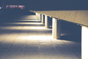 Forms at night