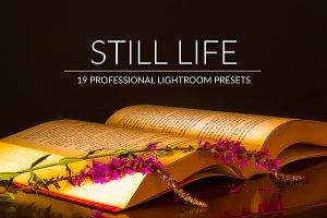 Still Life Lr Presets