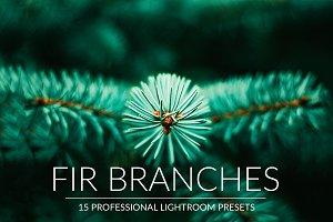 Fir Branches Lr Presets