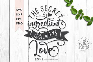 The secret ingredient SVG DXF EPS